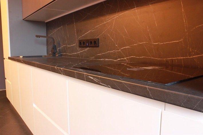 Белый кухонный гарнитур-Кухня МДФ в эмали «Модель 658»-фото3