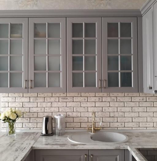 -Кухня МДФ в эмали «Модель 281»-фото23