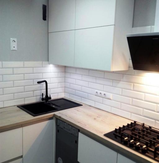 -Кухня из пластика «Модель 198»-фото22