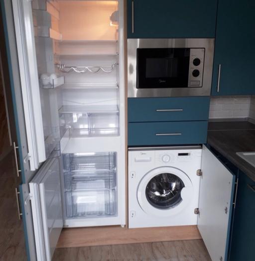 -Кухня из пластика «Модель 375»-фото13