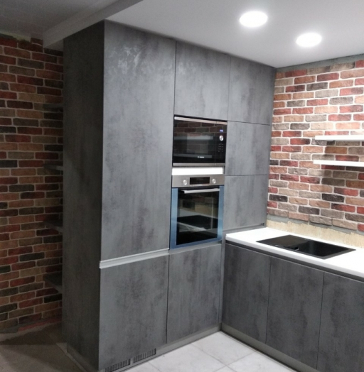 -Кухня МДФ в ПВХ «Модель 442»-фото6