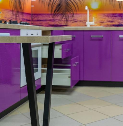 -Кухня МДФ в ПВХ «Модель 45»-фото17