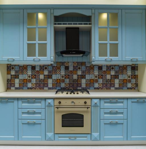 -Кухня МДФ в ПВХ «Модель 54»-фото5
