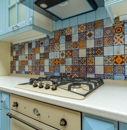 Встроенная кухня-Кухня МДФ в ПВХ «Модель 54»-фото9