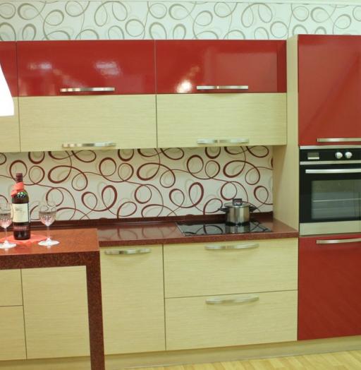 -Кухня из пластика «Модель 129»-фото28