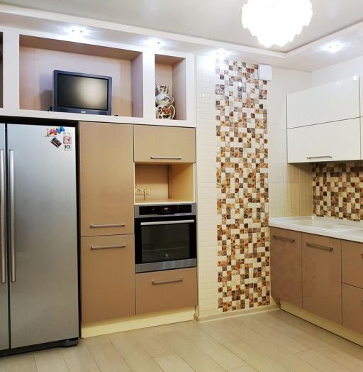 -Кухня из акрила «Модель 298»-фото24