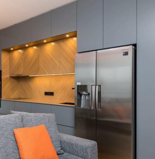 -Кухня МДФ в эмали «Модель 628»-фото26