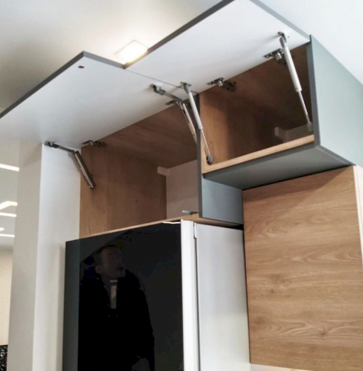 Встроенная кухня-Кухня МДФ в ПВХ «Модель 663»-фото6